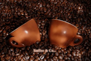 Kaffee und Kippe